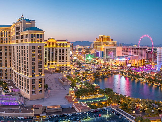 Book your flight to Las Vegas with eDreams