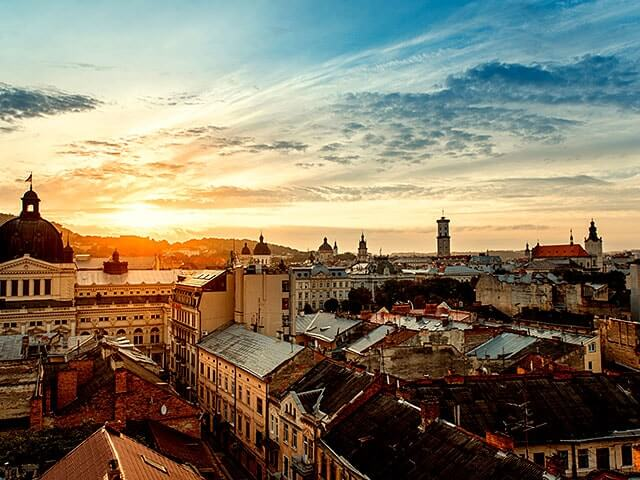 Book your flight to Lviv with eDreams