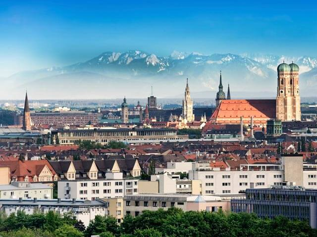 Book your flight to Munich with eDreams
