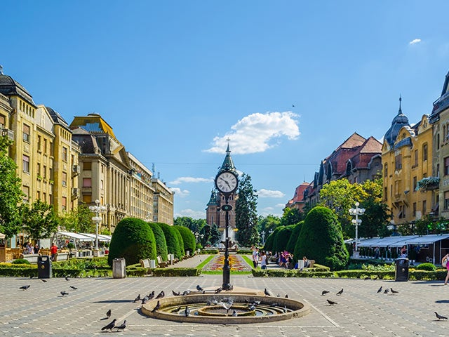 Book your flight to Timisoara with eDreams