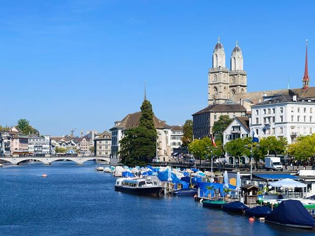 Book your flight to Zurich with eDreams